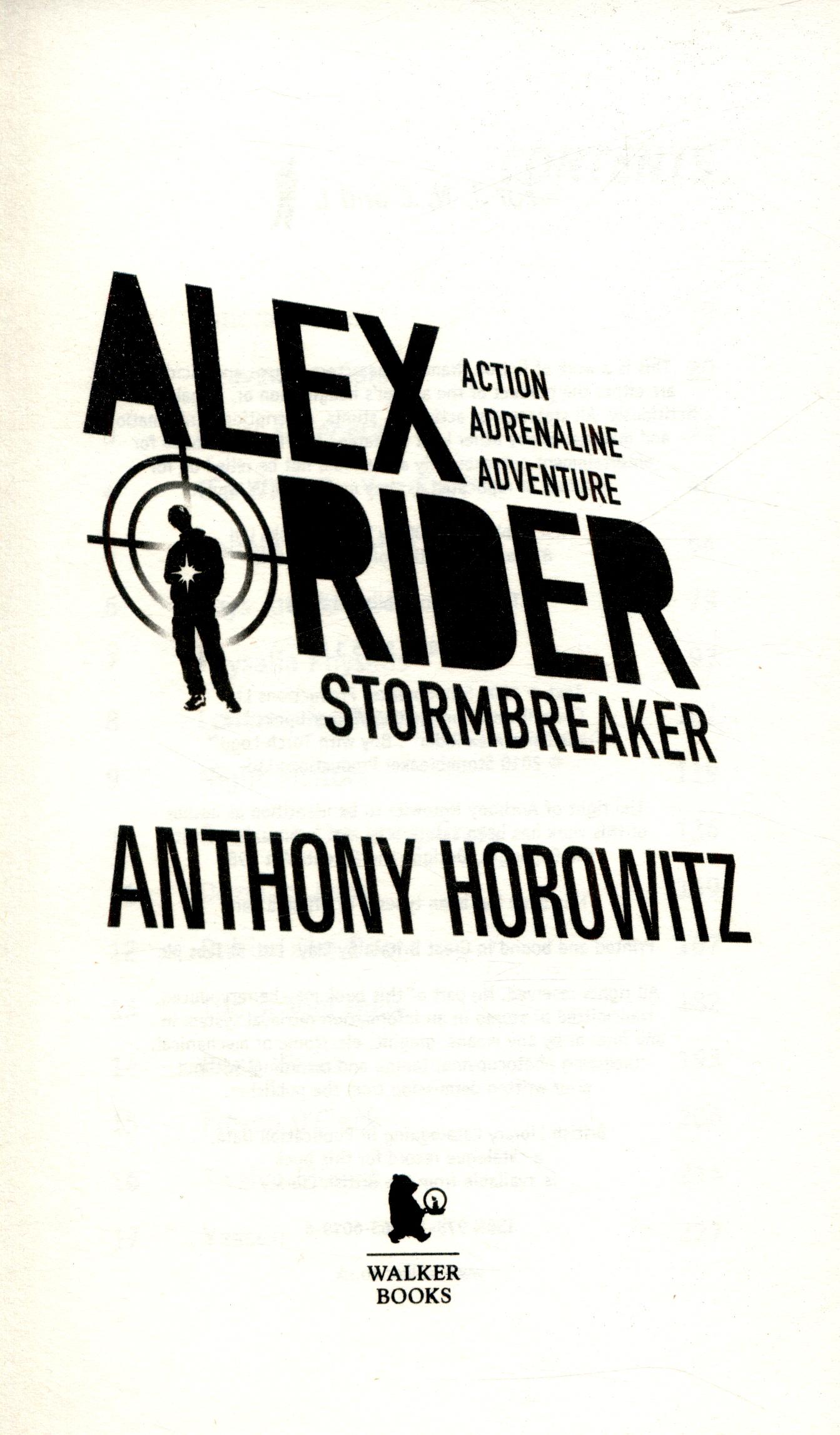 stormbreaker summary sparknotes