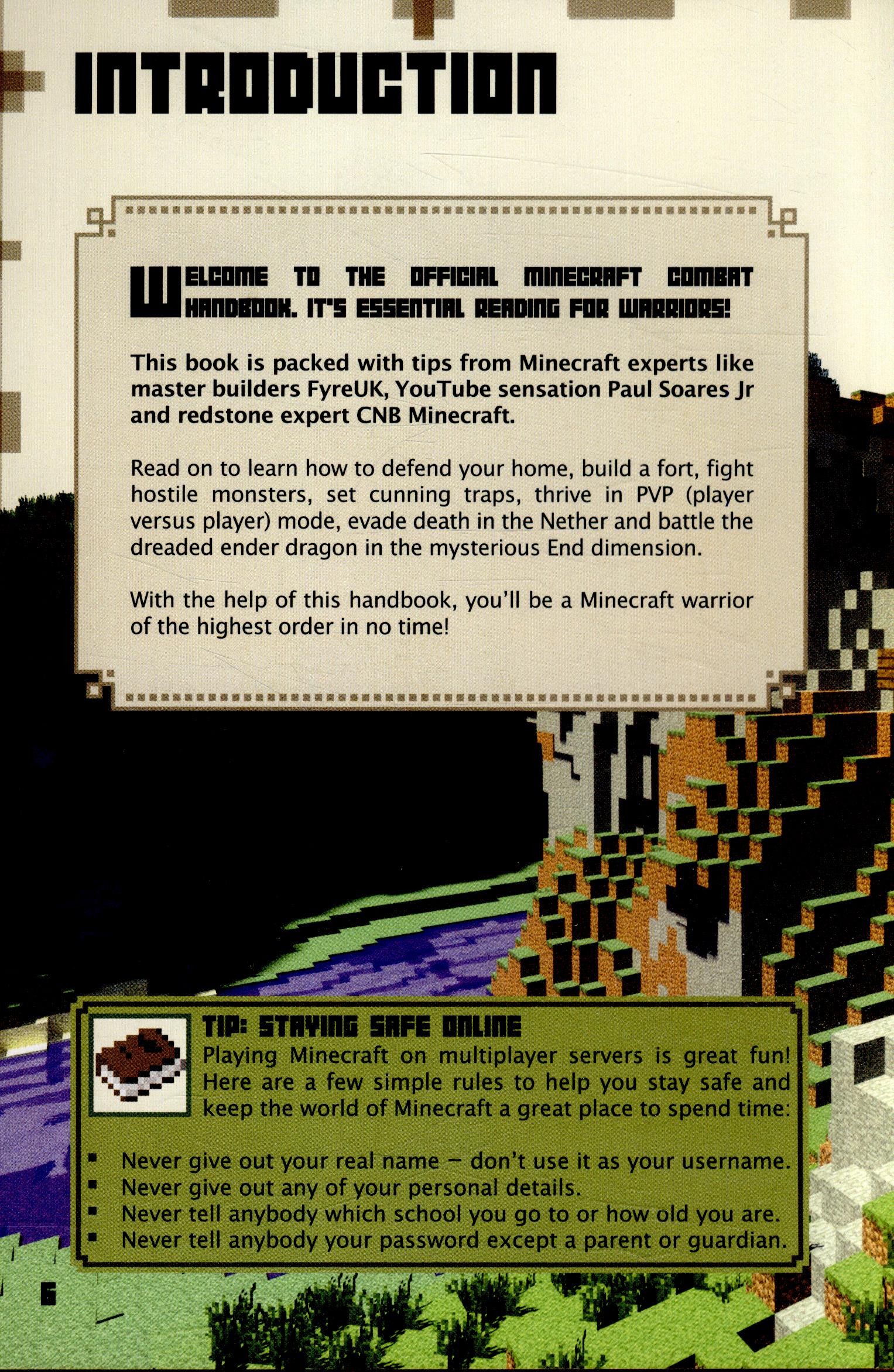 Minecraft : combat handbook by Mojang AB (9781405276795