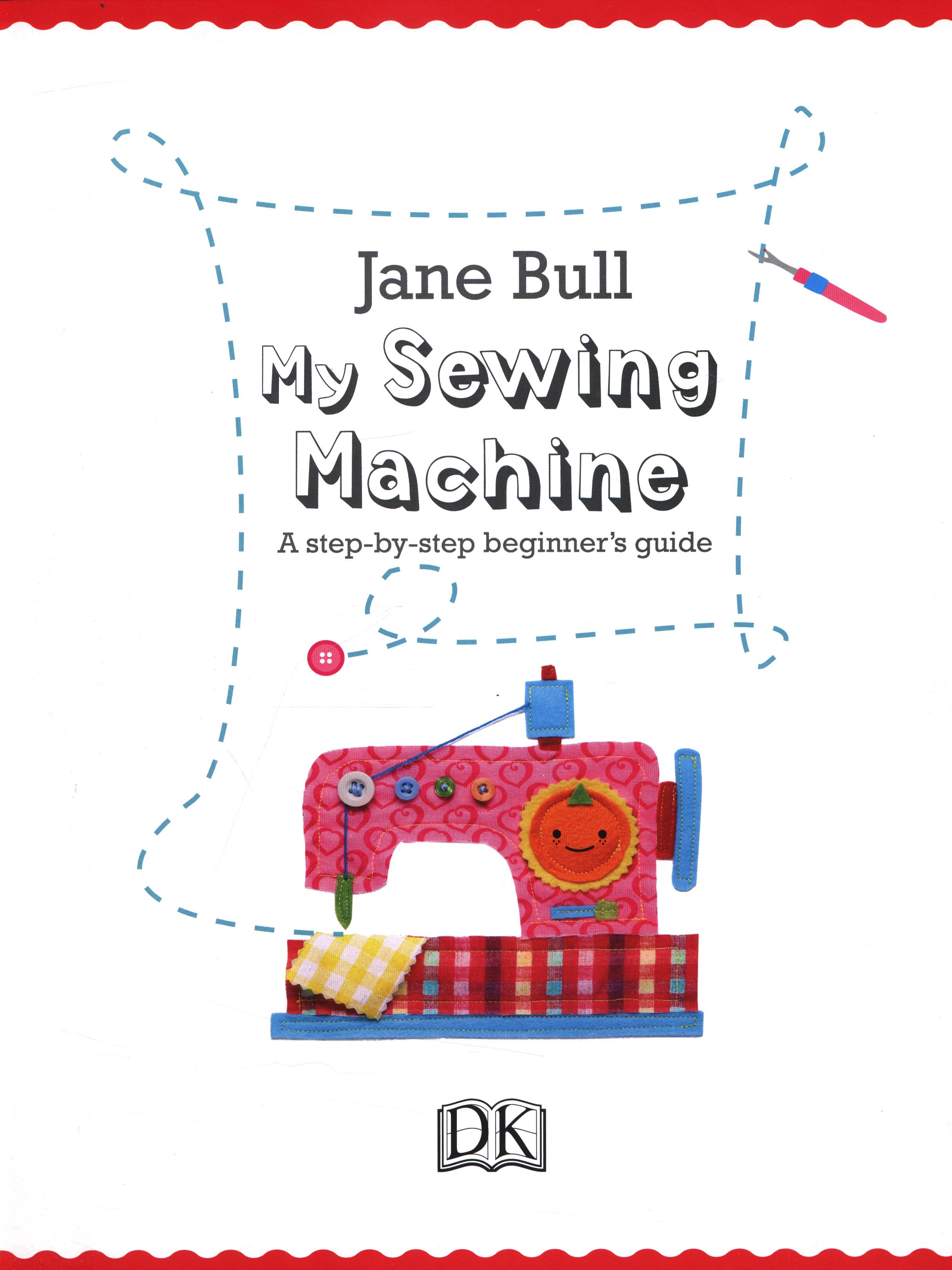 my sewing machine book