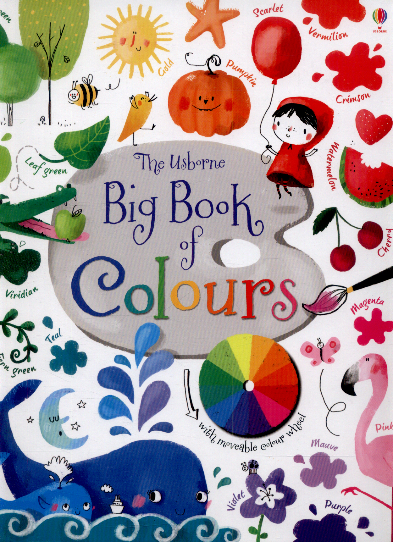 Colour book bands ks1 - The Usborne Big Book Of Colours