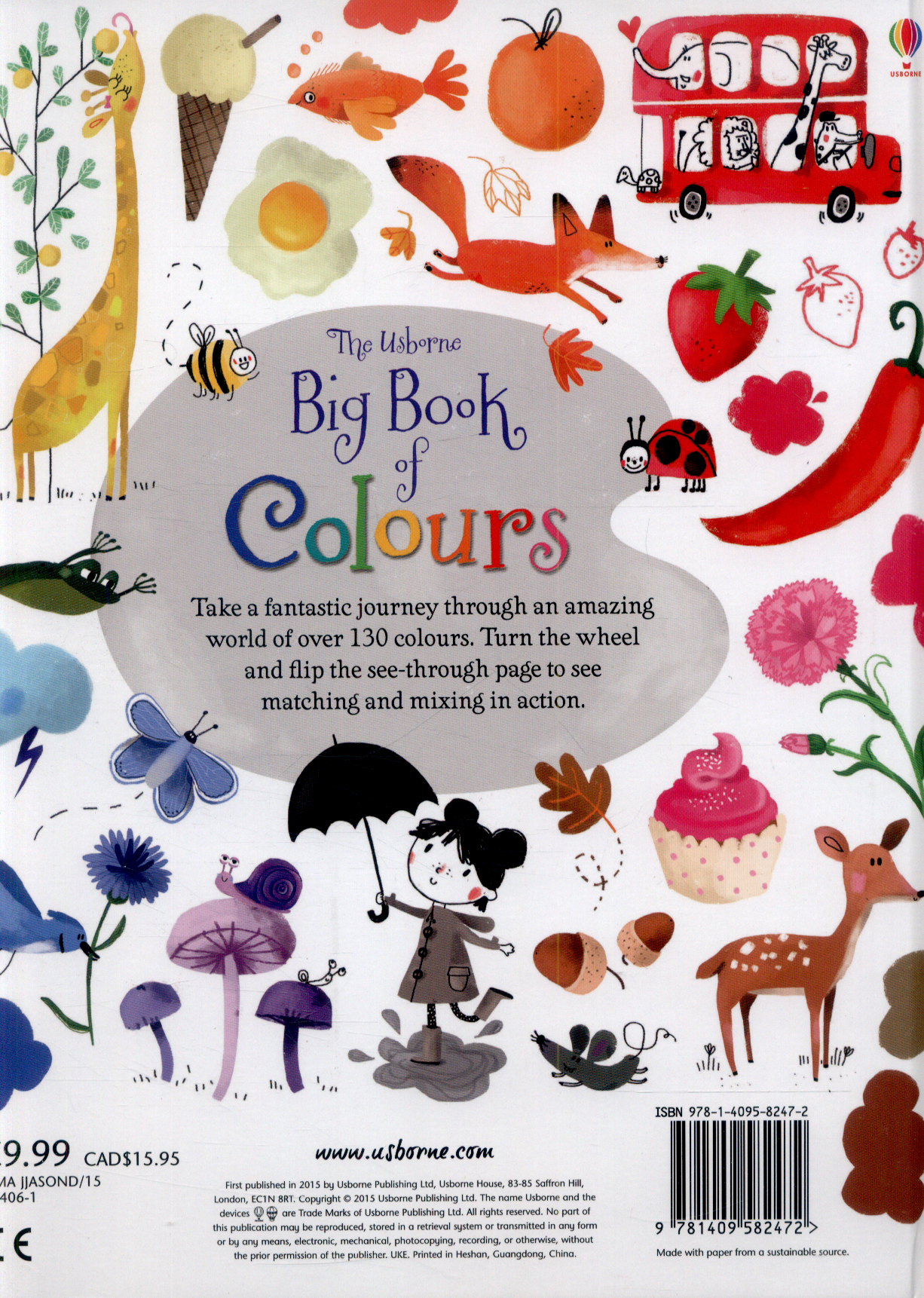 The Usborne big book of colours by Brooks, Felicity (9781409582472 ...