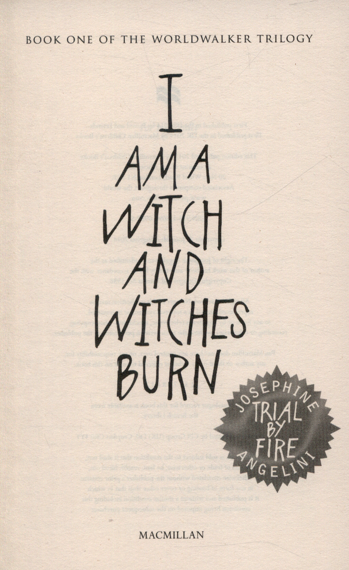 Trial by fire i am a witch and witches burn by angelini josephine trial by fire i am a witch and witches burn fandeluxe Choice Image