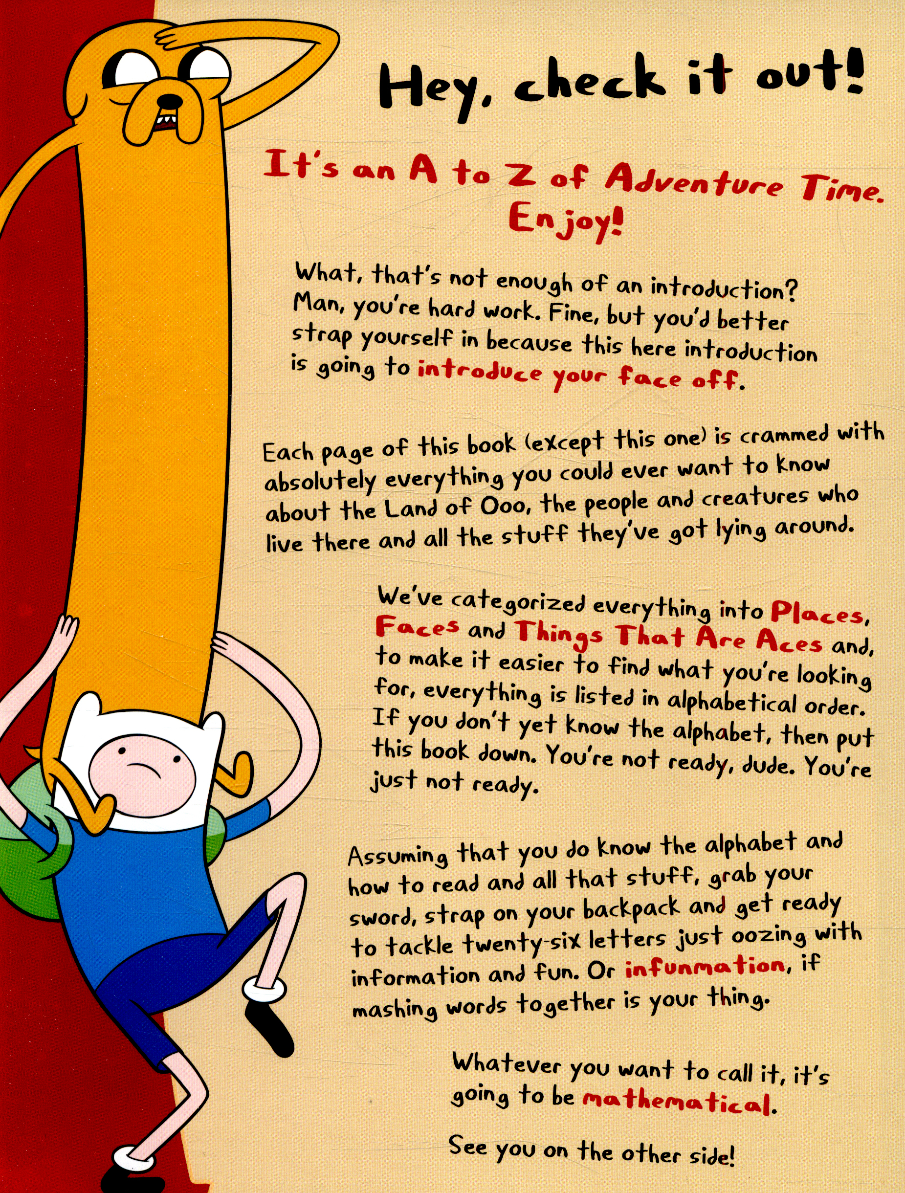 Adventure time an algebraic a to z by hutchison barry adventure time an algebraic a to z solutioingenieria Image collections