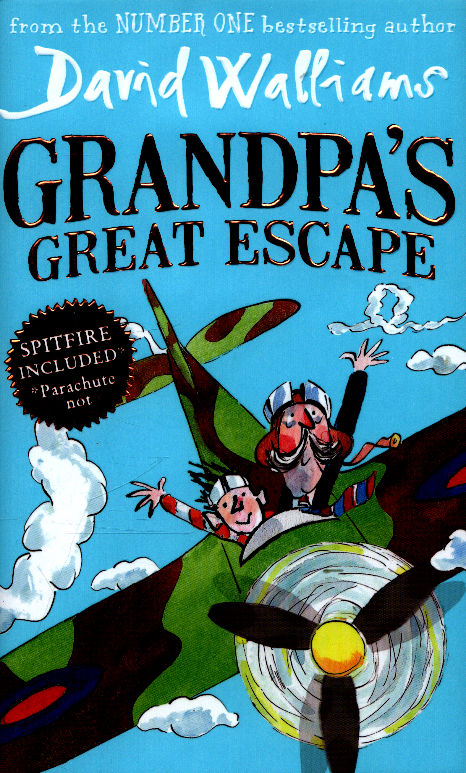 grandpa s great escape by walliams david 9780007494019 brownsbfs