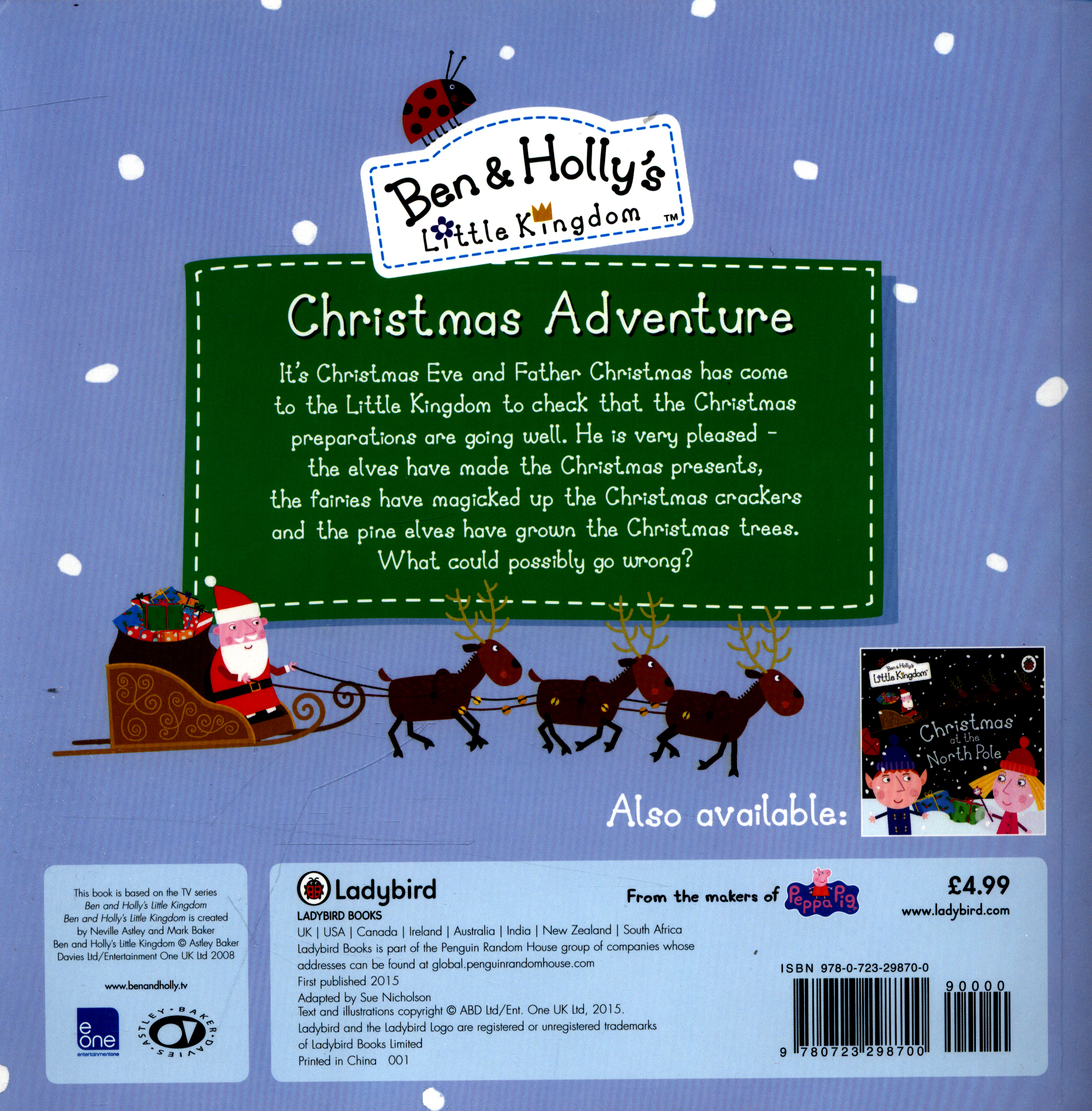 christmas adventure todays adventure starts at the little castle - Ben And Holly Christmas