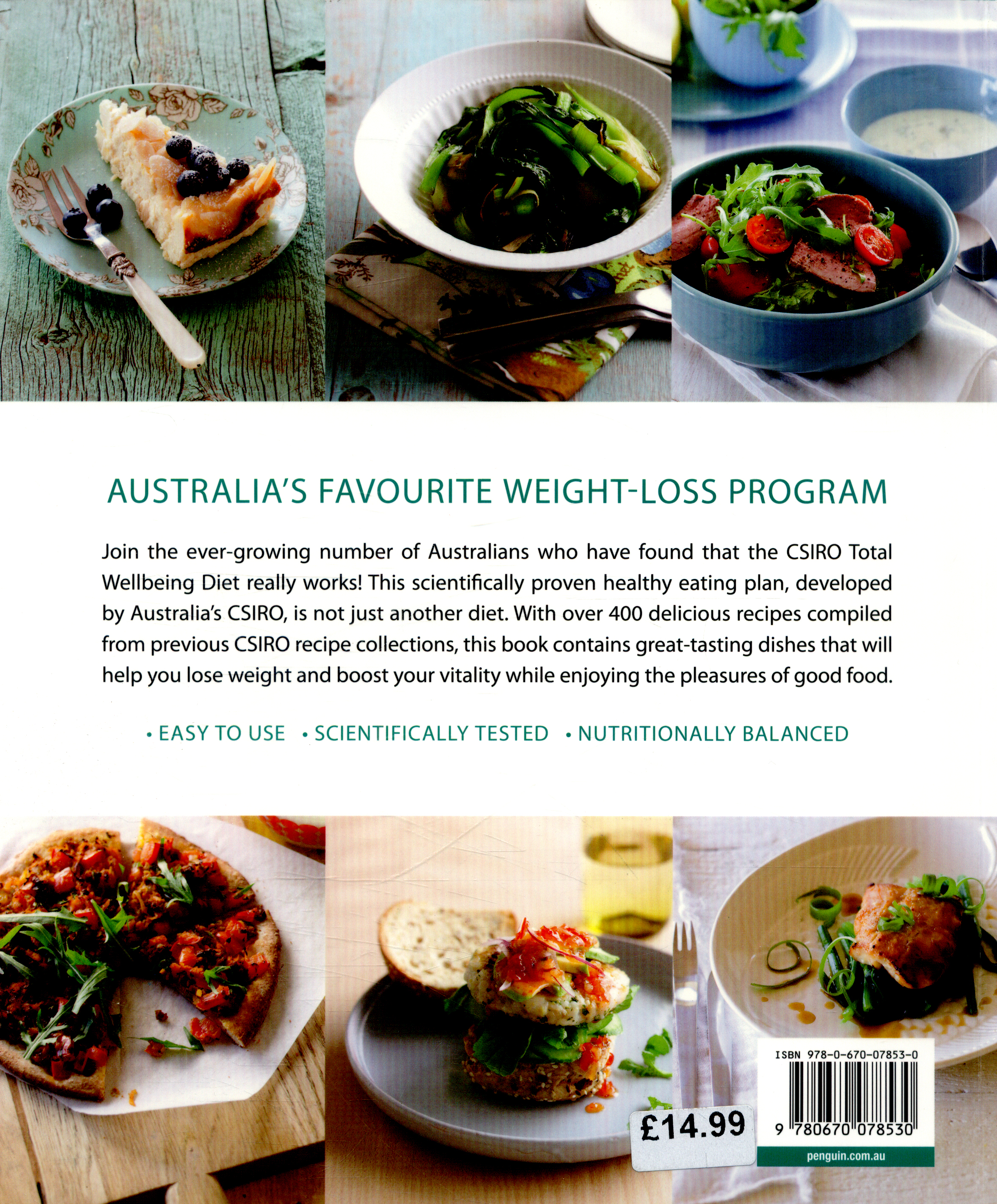 The csiro total wellbeing diet complete recipe collection by the csiro total wellbeing diet complete recipe collection forumfinder Gallery