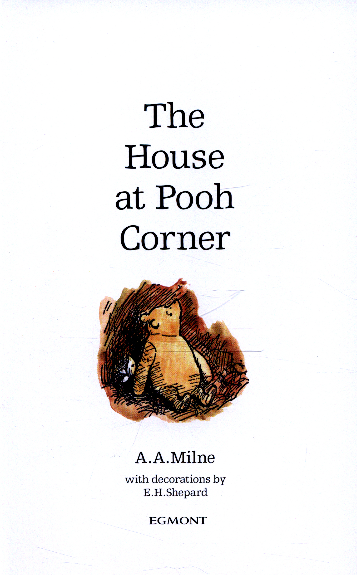 the house at pooh corner by milne a a 9781405281287