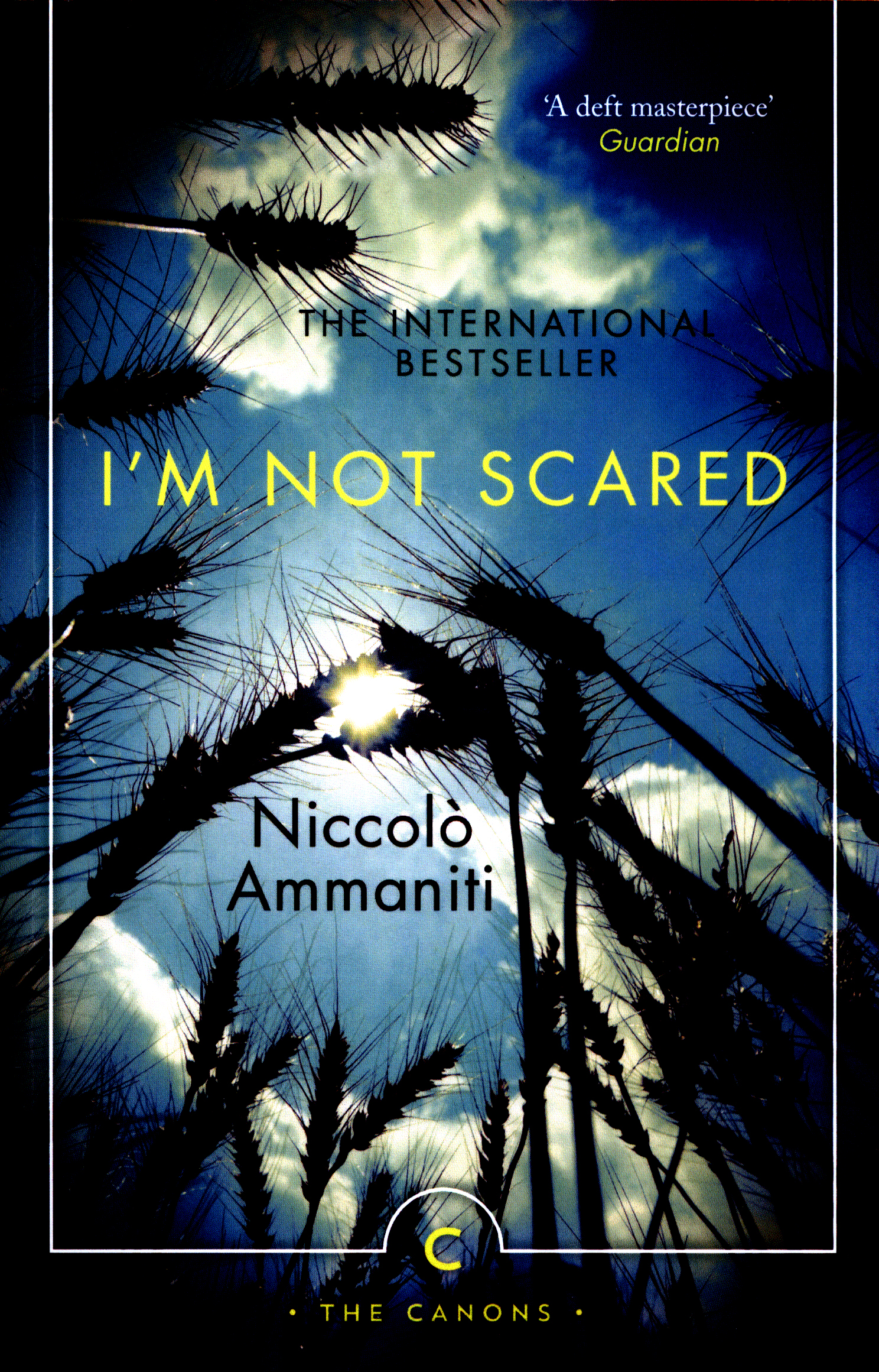 im not scared niccolo ammaniti essay Biggest and the best essays bank niccolo ammaniti essays, niccolo ammaniti papers throughout i m not scared, michele has to face many fears.