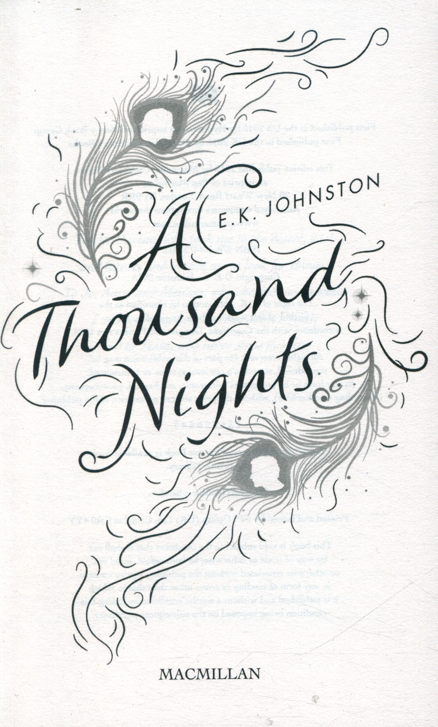 A Thousand Nights By Johnston, E.K. (9781447290377