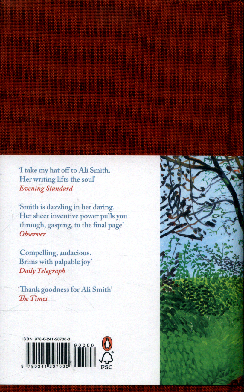 Ali Smith - Autumn; SIGNED 1st/1st (Man Booker Prize)