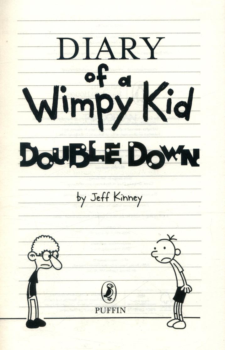 Double Down By Kinney Jeff 9780141373010 Brownsbfs