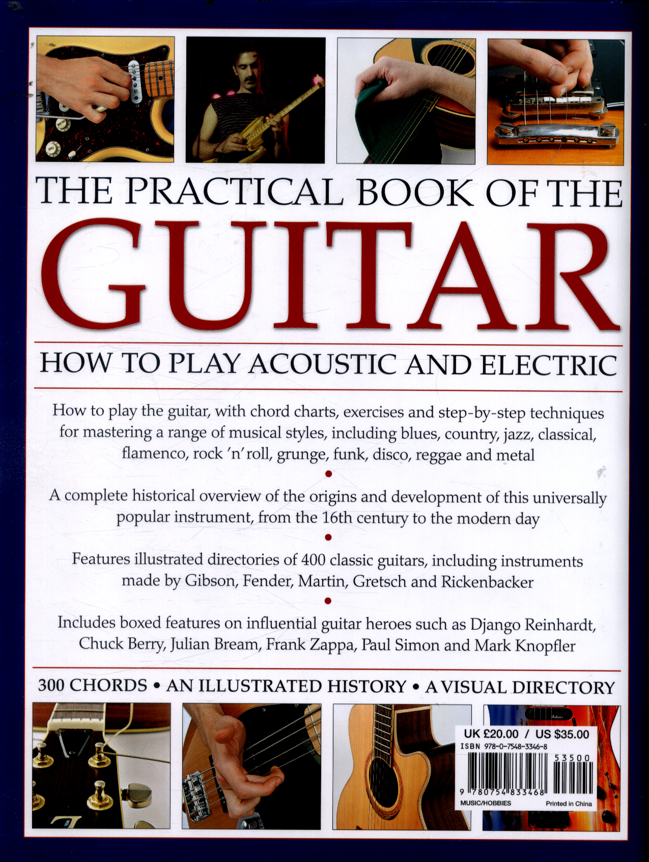 The Practical Book Of The Guitar How To Play Acoustic And Electric