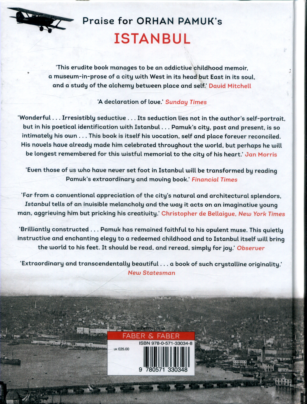 Istanbul : memories and the city (Illustrated edition)