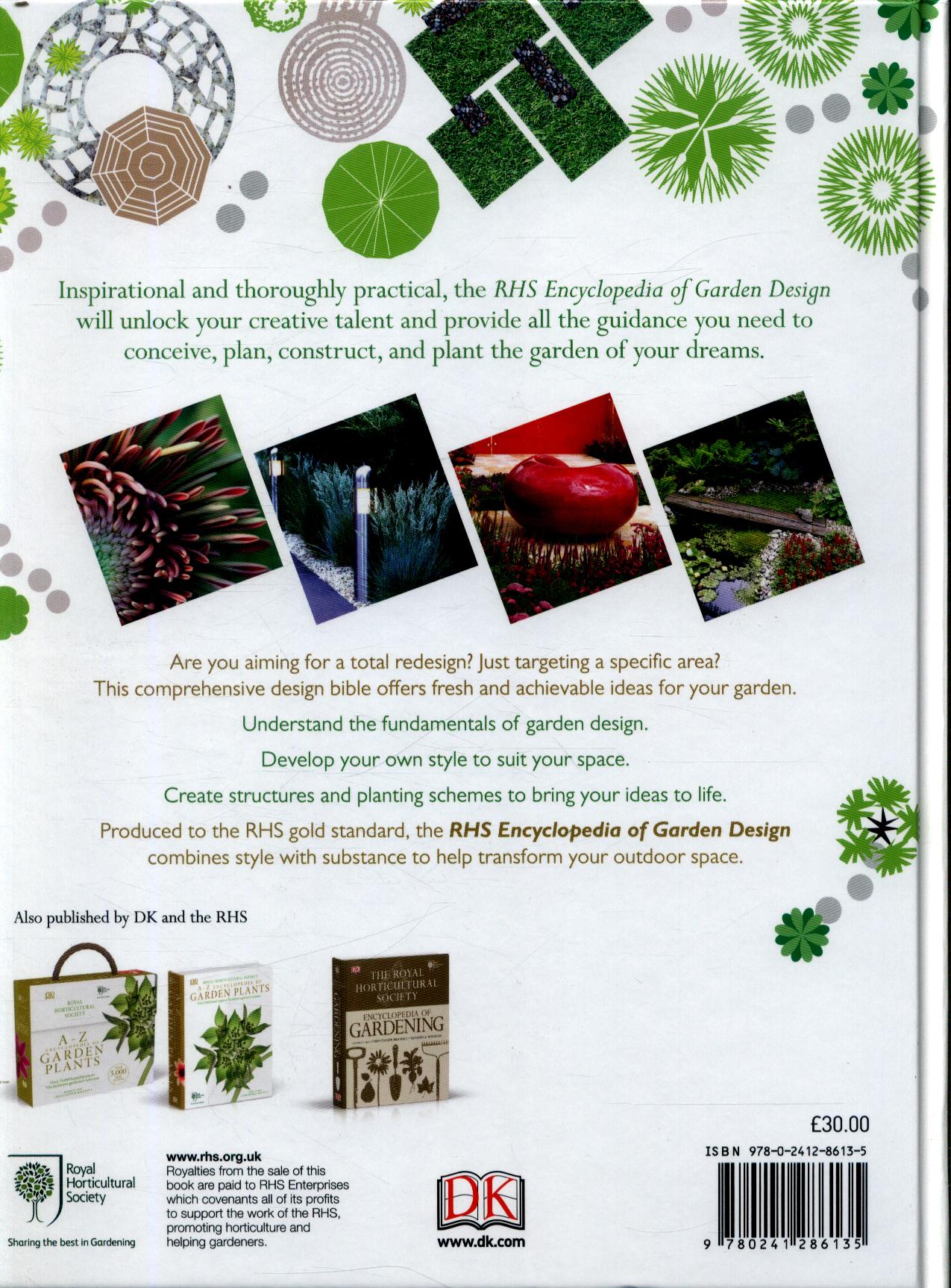 Encyclopedia Of Garden Design By Dk 9780241286135