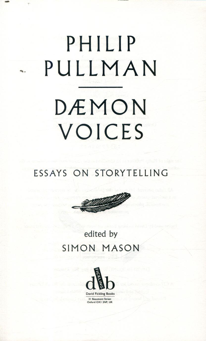 Philip pullman essay