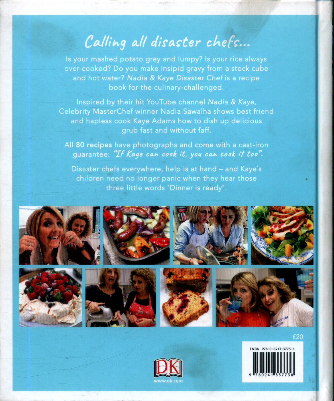 Nadia & Kaye disaster chef : simple recipes for cooks who can\'t by ...