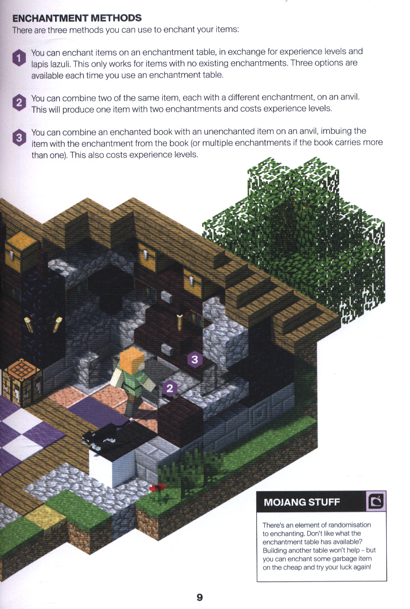 Minecraft: Guide to enchantments & potions by Mojang AB