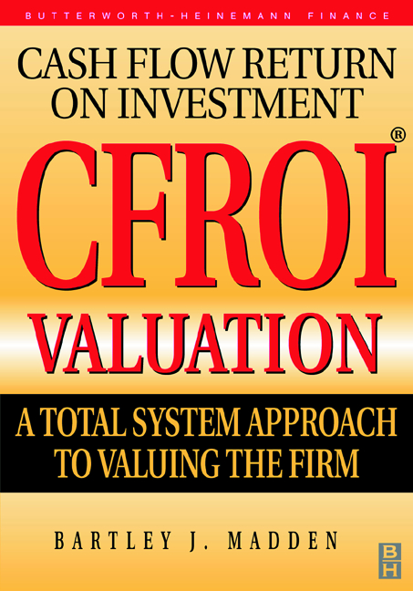 Cfroi Cash Flow Return On Investment Valuation