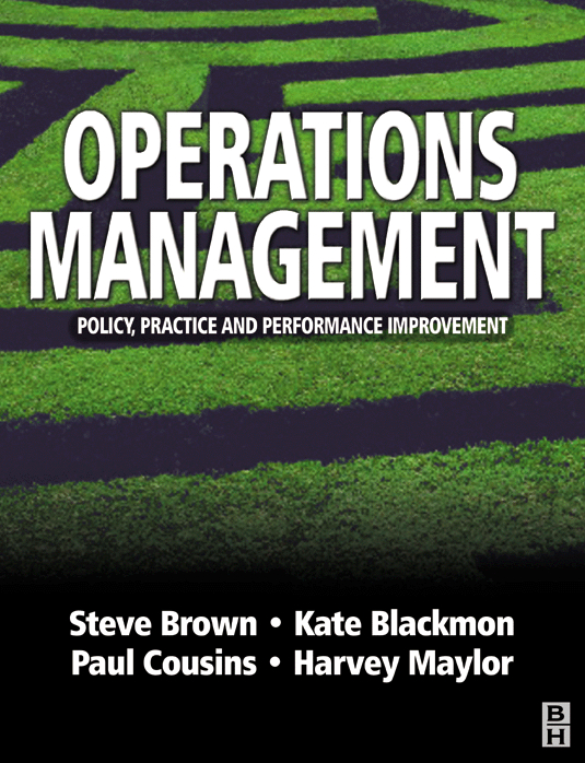 operation management and practice