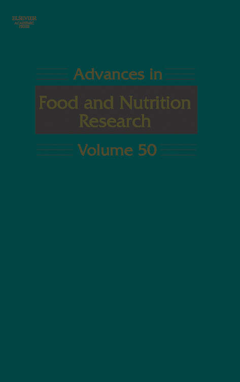 Advances in Food and Nutrition Research.