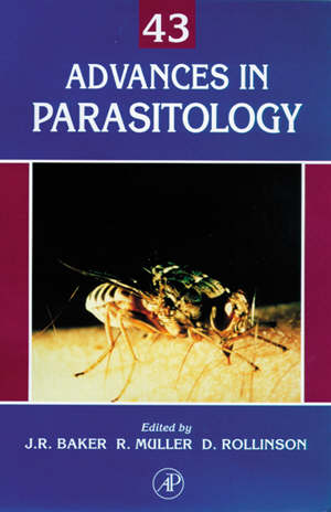 Advances in Parasitology.