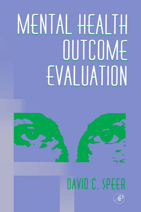 Mental Health Outcome Evaluation.