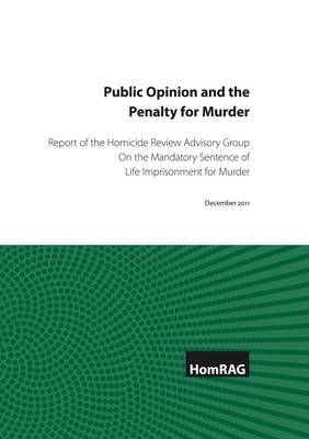 Public Opinion and the Penalty for Murder