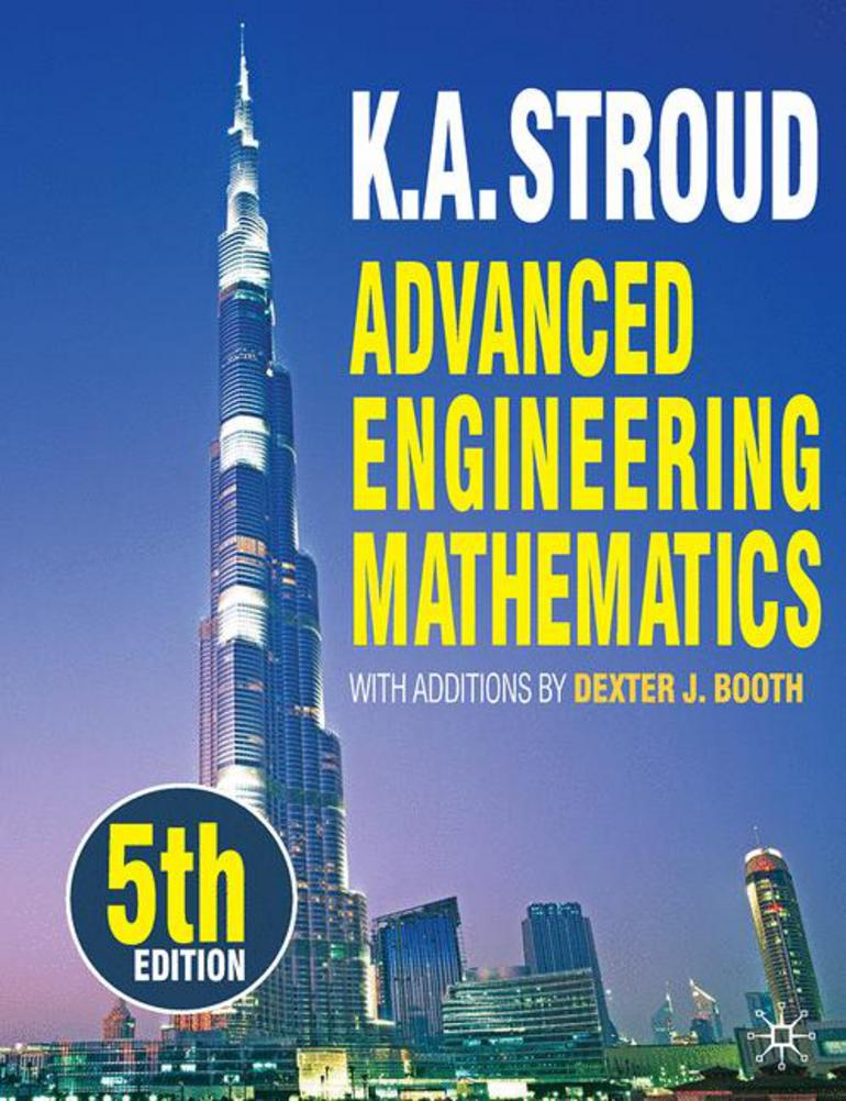 Advanced Engineering Mathematics K A Stroud Dexter Booth