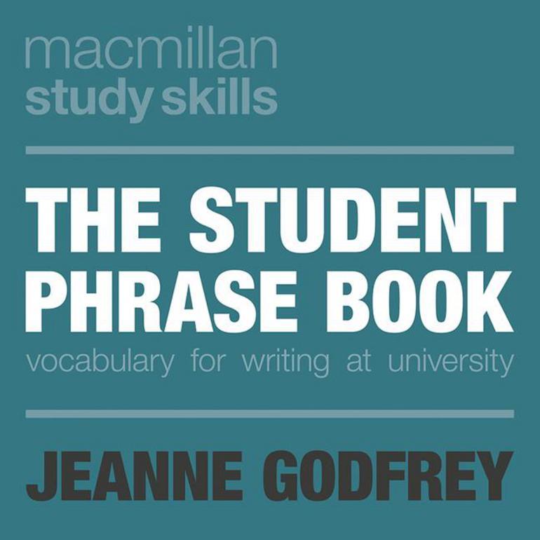 the student phrase book jeanne godfrey macmillan international