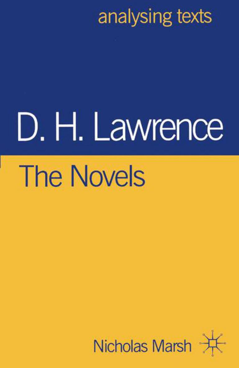 a literary analysis of the blind man by d h lawrence Practicing deconstruction, again: blindness, insight and the lovely treachery of words in d h lawrence's the blind man.