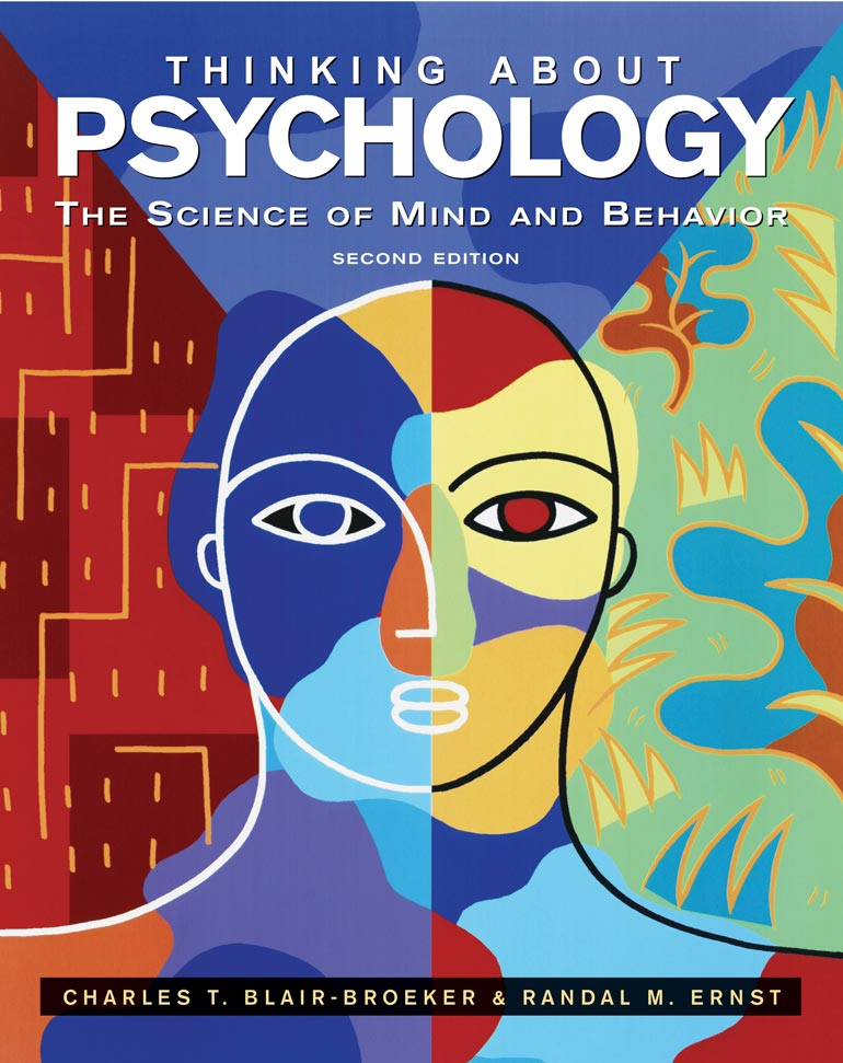 Thinking About Psychology Charles T Blair Broekerrandal M Ernst
