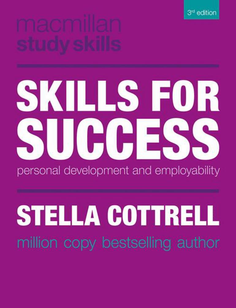 skills for success stella cottrell macmillan international