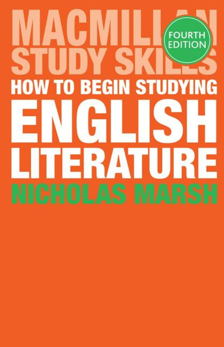 the english handbook a guide to literary studies