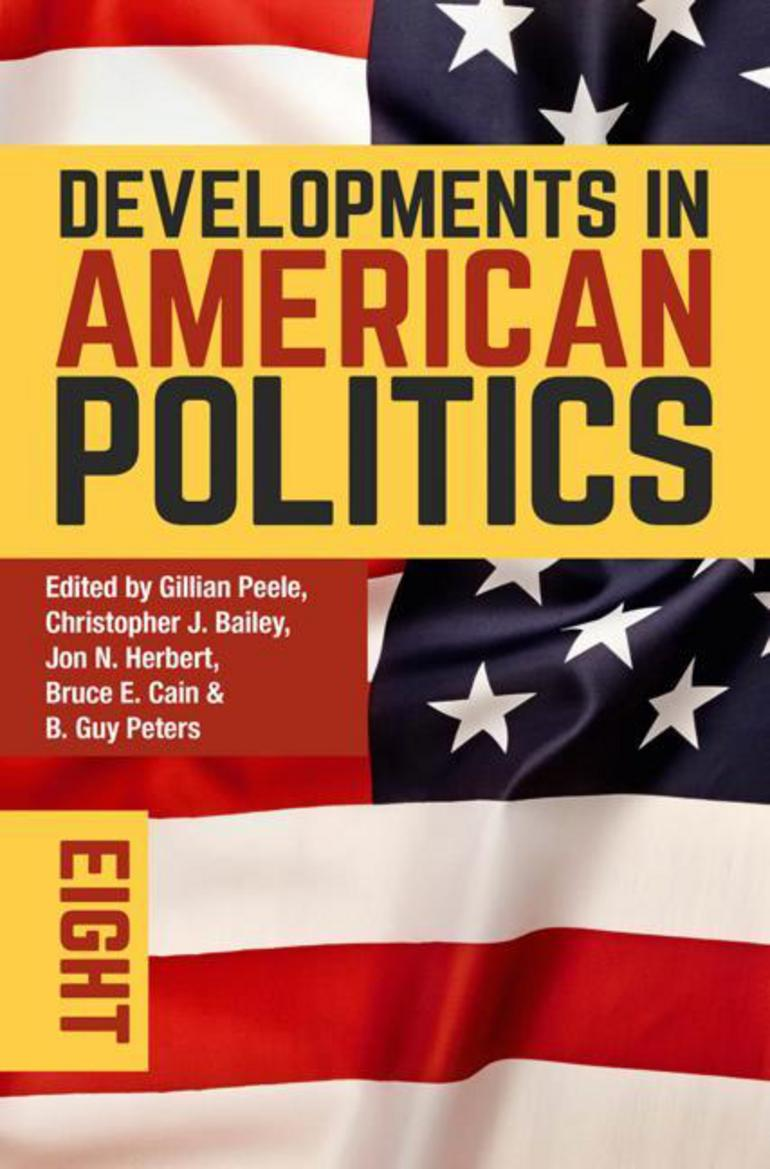 developments in american politics 8 gillian peele christopher j