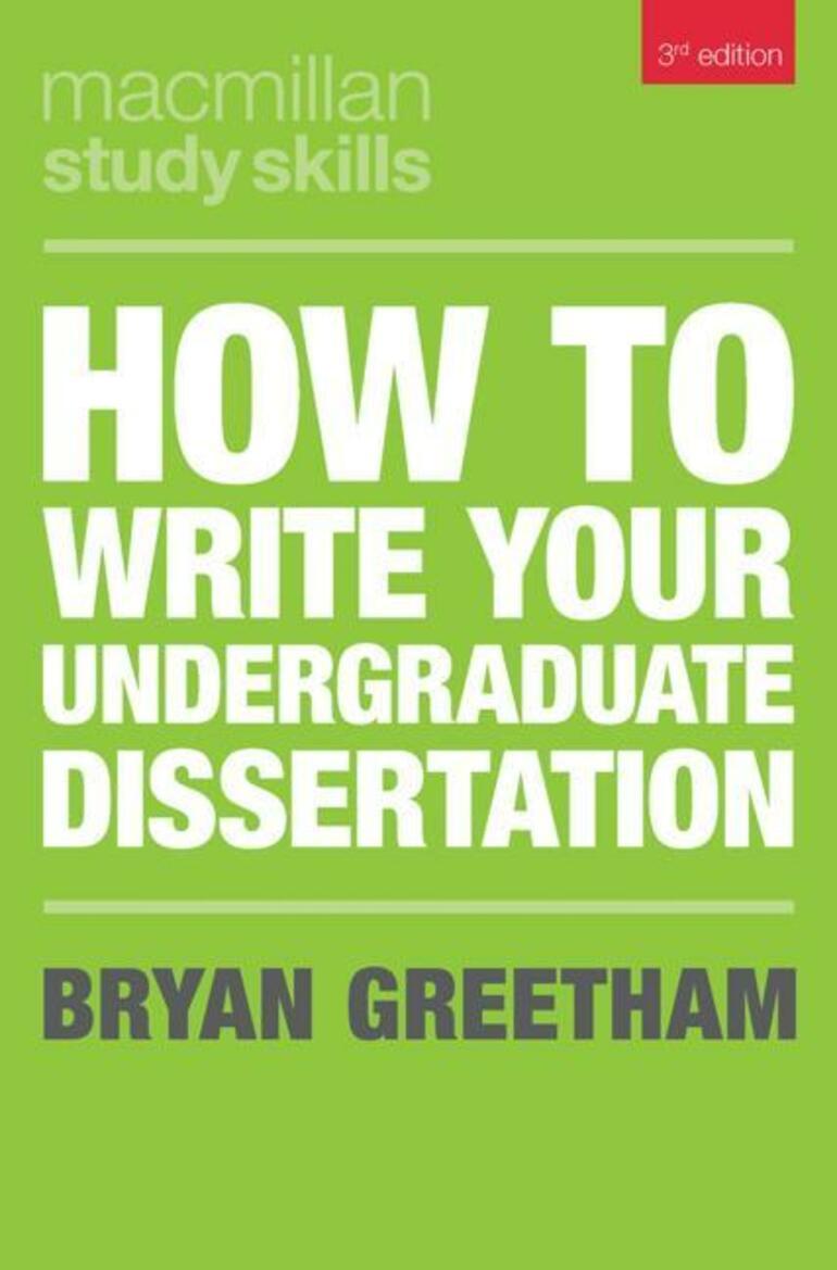 dissertation undergraduate