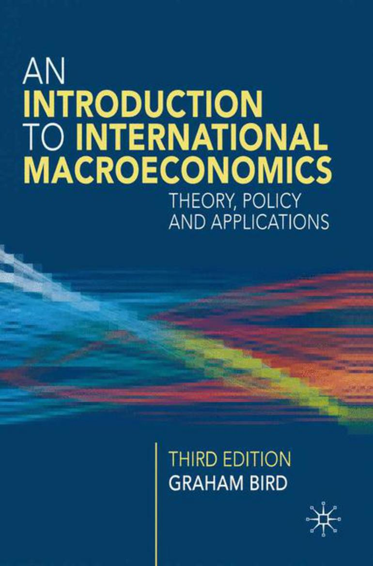 An Introduction To International Macroeconomics Graham Bird