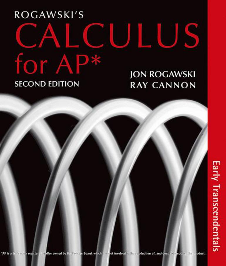 Rogawskis calculus early transcendentals for ap 2e jonathan d rogawskis calculus early transcendentals for ap 2e jonathan d rogawskiray cannon macmillan international higher education fandeluxe Gallery