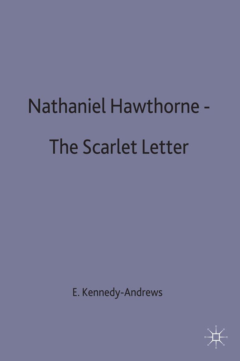nathaniel hawthorne the scarlet letter