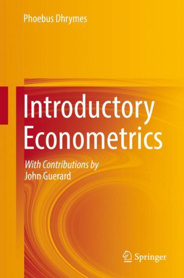 Introductory Econometrics - Phoebus Dhrymes - Macmillan International  Higher Education