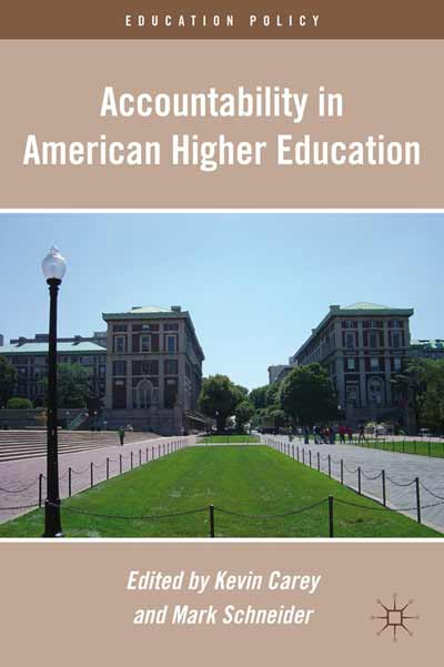 Accountability in American Higher Education