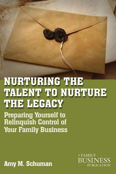 Nurturing the Talent to Nurture the Legacy
