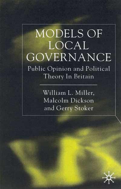 Models of Local Governance