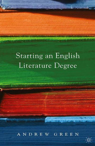 Starting an English Literature Degree