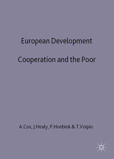 European Development Cooperation and the Poor