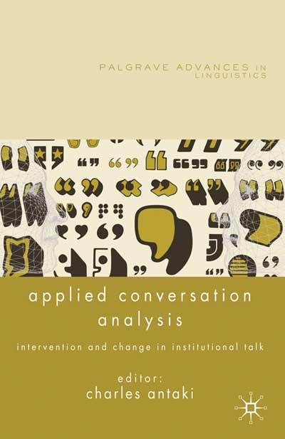 Applied Conversation Analysis
