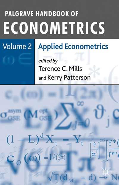 Palgrave Handbook of Econometrics