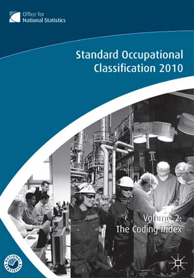 The Standard Occupational Classification (SOC) 2010 Vol 2