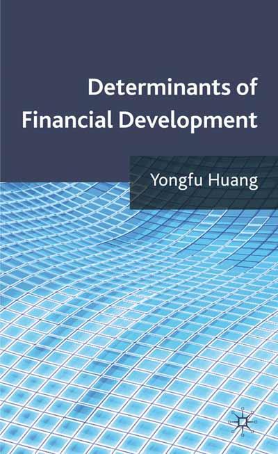 Determinants of Financial Development