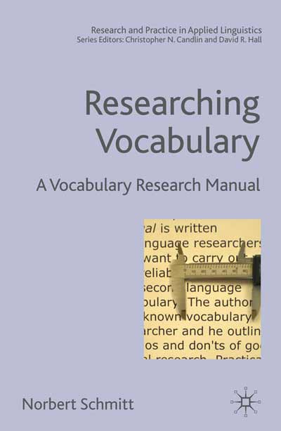 Researching Vocabulary