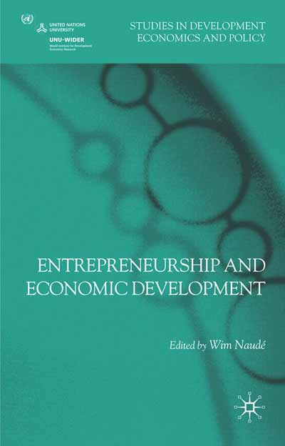 Entrepreneurship and Economic Development